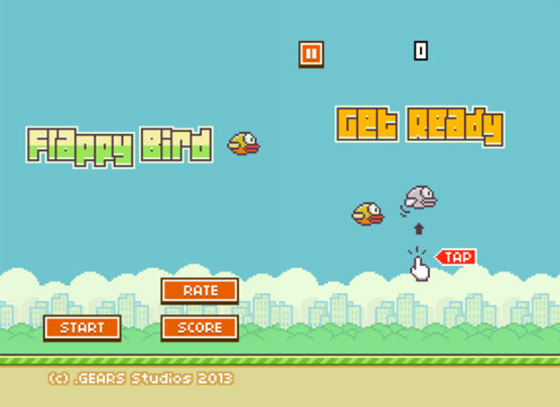 Flappy Birds Screen shot