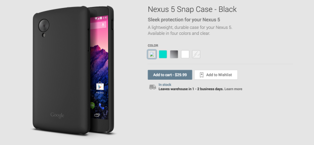 Nexus 5 Snap Case